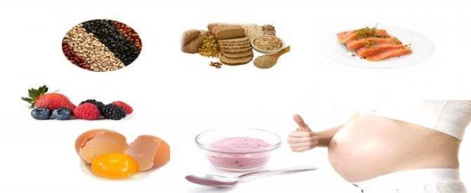 6 مواد غذایی که باید در دوران بارداری مصرف شود