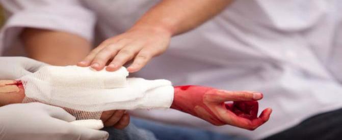 کمک های اولیه - خونریزی شدید