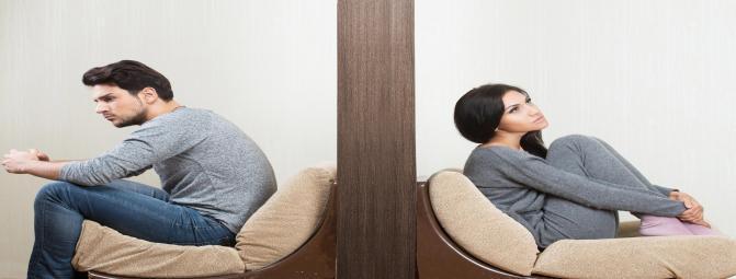 4 رفتار پیش بینی کننده طلاق
