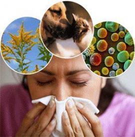 از بین بردن علایم آلرژی بدون مصرف دارو