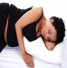 حالت های خوابیدن در دوران بارداری